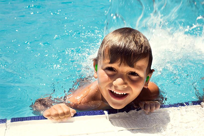 Ohrstöpsel Schwimmen