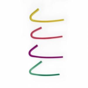 Hornschlauch vorgebogen 3,0 farbig
