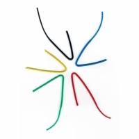 Schallschlauch vorgebogen 2,0x3,1 farbig