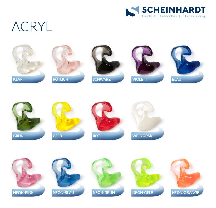 Acryl - Farben