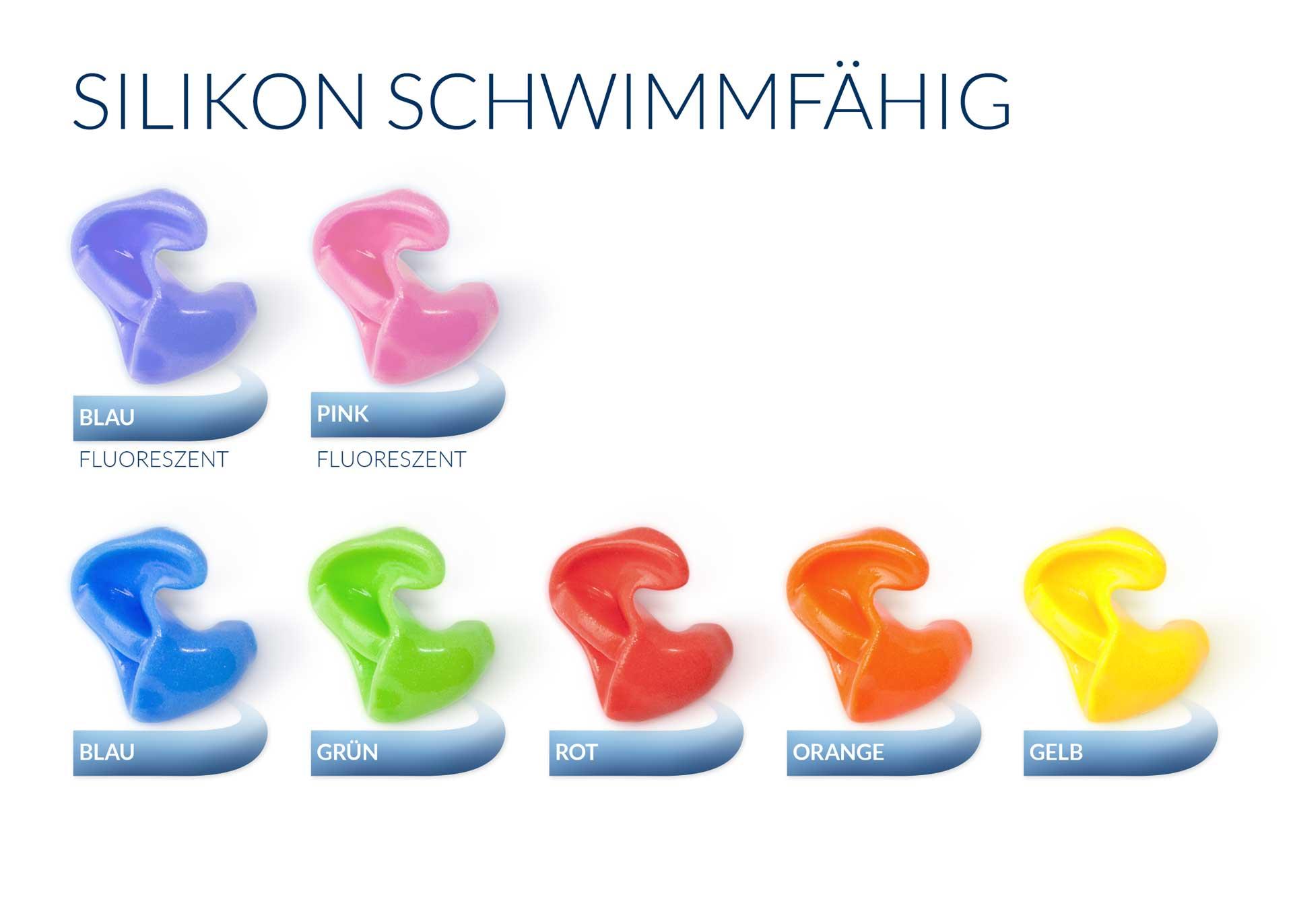 Scheinhardt Silikon (schwimmfähig) Farben