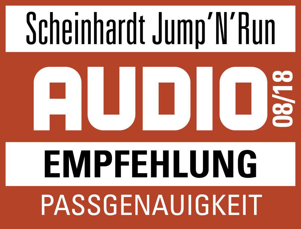 AUDIO jump 'n' run Auszeichnung