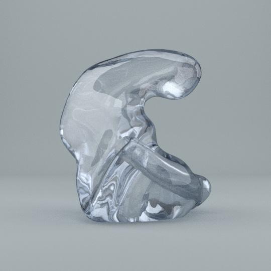Kassen-Schale in Acryl transparent